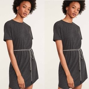 🆕Lou & Grey Softserve Slub Shirttail Tee Dress
